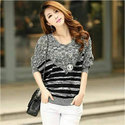 Baggy Sleeves Woolen Top