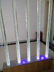 Laser Engraved Pillar