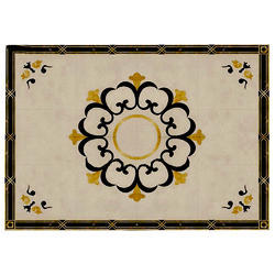 Rectangular Pietra Dura Marble Dining Table Top