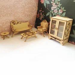 Miniature Furniture - Living Room