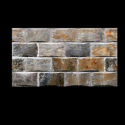Ceramic Wall Tiles Brick Elevation 10x15 Matt Finish, Thickness: 6 - 8 mm, Size: 10*15 Inch