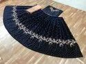TRADITIONAL BLACK DESIGNER LEHENGA CHOLI