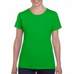 Round Neck Green T-Shirts