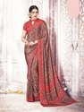 Traditional Poly Crepe Silk Saree