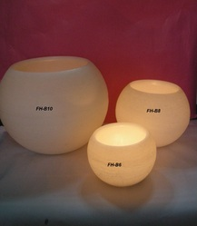 Paraffin Wax Round Hollow Candle