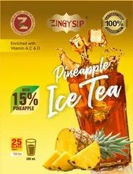 Zingysip Natural Pineapple Flavour Tea ( 500 Gm.) With Natural Vitamin  A, C & D