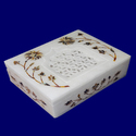 Marble Box Stone Inlay Box