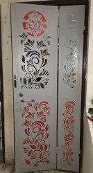 Sheet Metal Safety Door