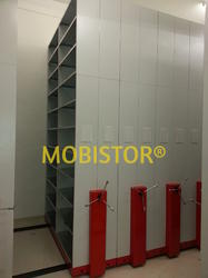 Mobile Compactor File Storage System