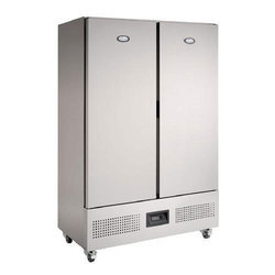 Stainless Steel Vertical Refrigerator, Electricity
