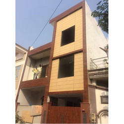 Residential HPL Cladding Work