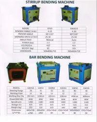 Semi Automatic TMT Bar Bending Machine