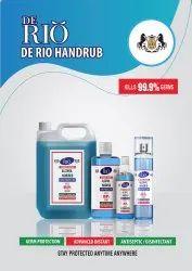 Hand Sanitiser 80% De Rio Range Premuim