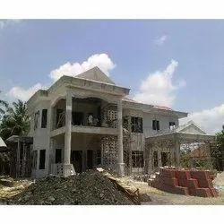 Concrete Frame Structures Residential Projects Bungalow Construction Service, Local