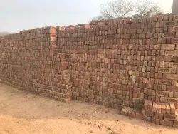 Rectangular Red awwal bricks, Size: 94