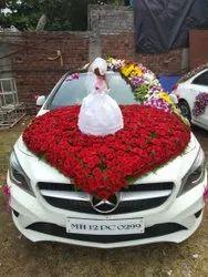 1 Day Wedding Car Decoration, Pune
