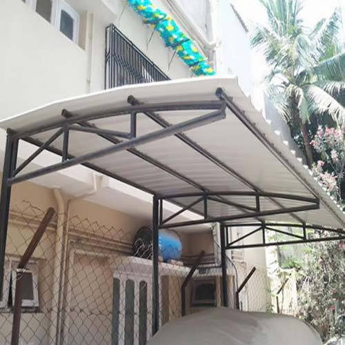 Mild Steel Outdoor Roofing Structure Rs 240 Square Feet