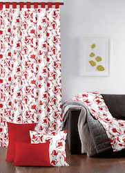 Fancy Printed Cotton Curtain