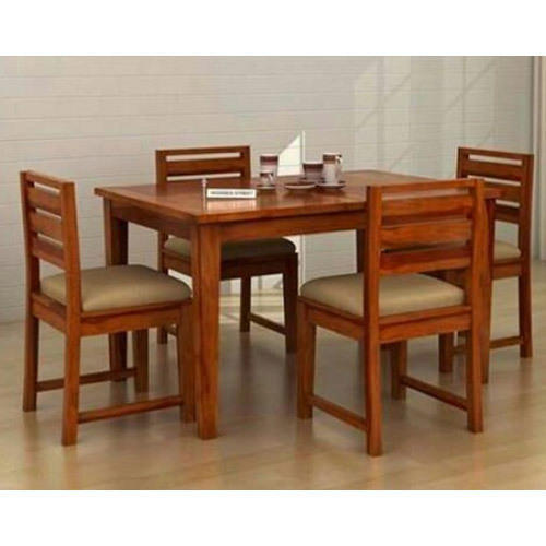 Indian Handicraft House Brown Dining Table Set