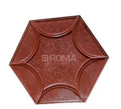 Hexagone Design PVC Rubber Mould