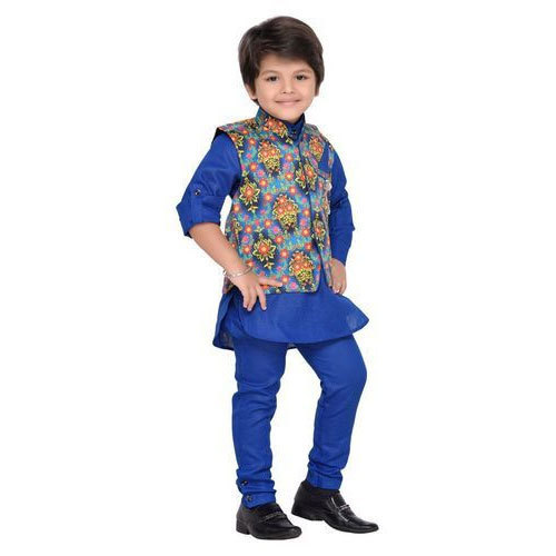 18ff168fc Boys Party Wear Kurta Pajama With Jacket
