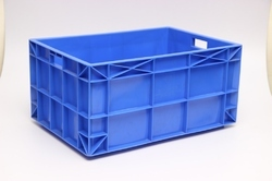 Red Green And Orange Plastic Industrial Jumbo Crates, Capacity: 50 Kg