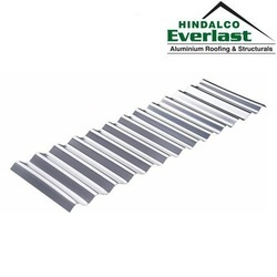 Everlast Aluminium Circular Corrugated Profile Roofing Sheet, Length: 1500 mm to 6500 mm
