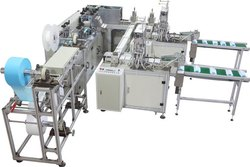 Semi Automatic Surgical Face Mask Making Plant