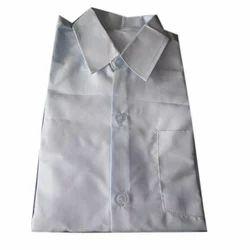 Mittal Hosiery Cotton Boys School White Shirt