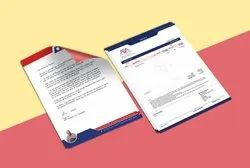 Paper Letterhead Printing Services, Location: Faridabad, Ncr, Size: A4