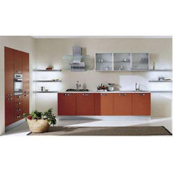 Inch X Inch Laminated Kitchen Cabinet