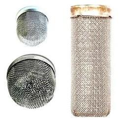 Sintered Mesh Type Flame and Spark Arrestor