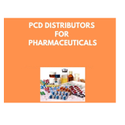 PCD Distributors For Pharmaceuticals
