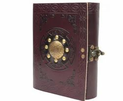 Metal Leather Embrossed Journal