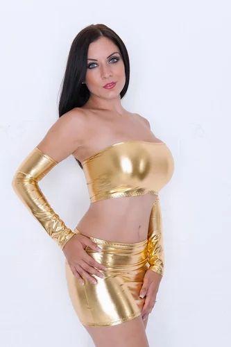 Shinny gold bikini