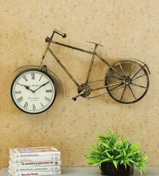 Antique Cycle Wall Clock