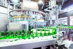 Glass Bottle Rinsing Filling and Capping