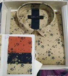 Men Kento Printed Shirt - 3755