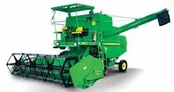John Deere W50, 12 feet, 75 hp, Combine Harvester, 4 Straw Walker