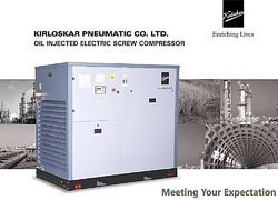 Oil Injected Electric Screw Compressor