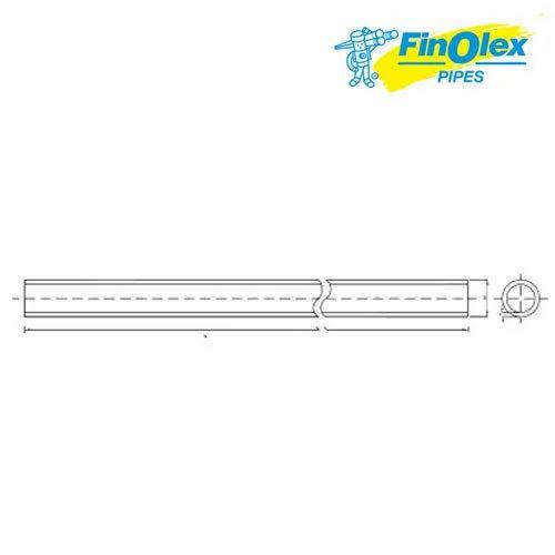 6m Finolex PVC-U Plumbing Pipe, Finolex Pipes & Fittings (Unit Of