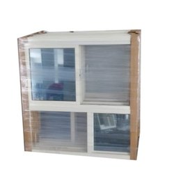 Modern Powder Coated Aluminium Window, For Home