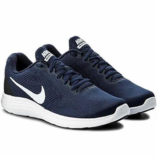 Revolution 3 Navy Blue Running Shoes