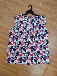 Ladies Cotton Viscose Tops