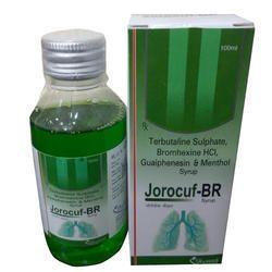 Terbutaline Sulphate Bromhexine HCL Guaiphenesin Menthol