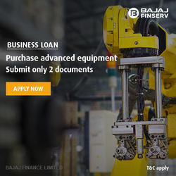 Bajaj Finserv Machinery Loan