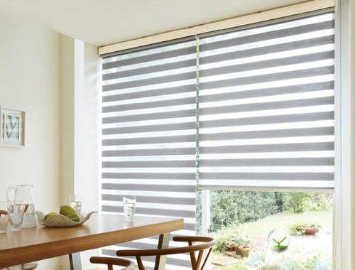 Polyester Zebra Window Blinds