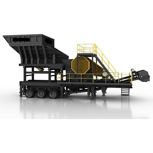 30-40 TPH Mobile Stone Crusher Plant