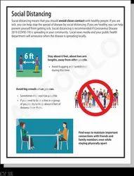 Corona Virus Safety Poster: Social Distancing
