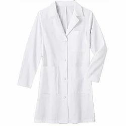White Cotton Safety Lab Coat